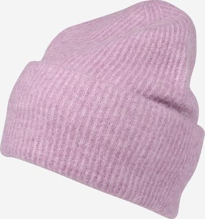 Samsoe Samsoe Bonnet en violet, Vue avec produit