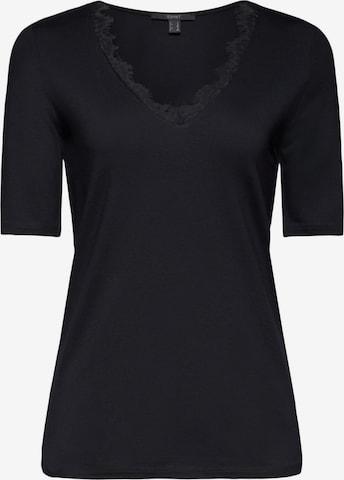 Esprit Collection T-Shirt in Schwarz
