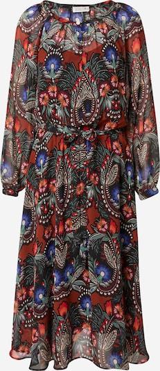 Molly BRACKEN Kleid in camel / blau / grasgrün / rostrot, Produktansicht