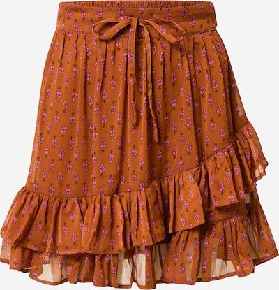 JDY Skirt 'OFELIA' in Blue / Caramel / Pink, Item view