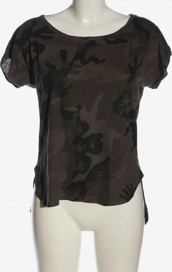 Urban Classics T-Shirt in S in braun / hellgrau, Produktansicht