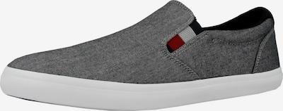 TOMMY HILFIGER Slip On in navy / grau / rot / schwarz / weiß, Produktansicht
