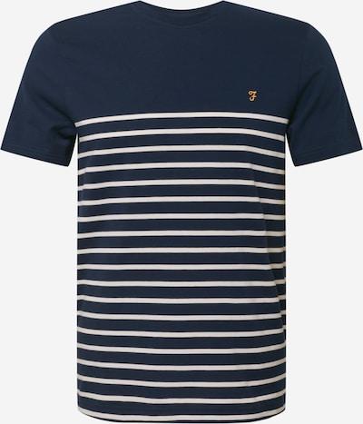 Tricou 'FLORIDA' FARAH pe albastru închis / galben auriu / alb, Vizualizare produs