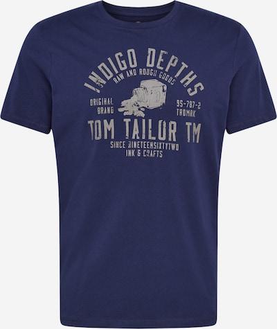 TOM TAILOR Tričko - tmavě modrá / světle šedá, Produkt