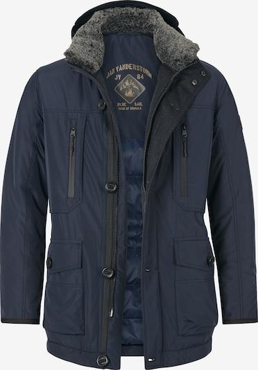 Jan Vanderstorm Functionele jas 'Botulfr' in de kleur Navy, Productweergave