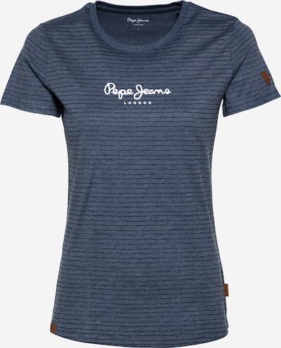 Pepe Jeans Tričko 'MAHSA' - chladná modrá / černá / bílá, Produkt