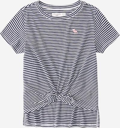Abercrombie & Fitch T-Shirt in grau / weiß, Produktansicht