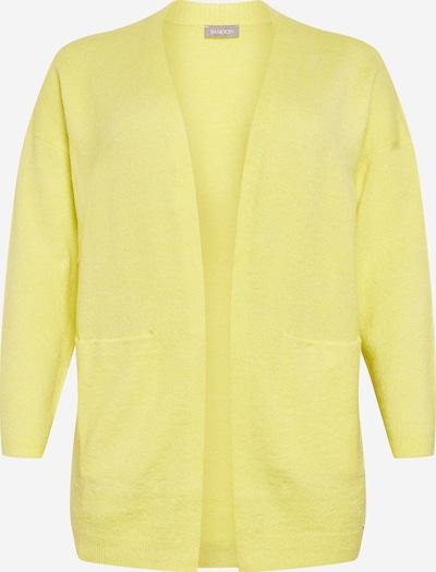 SAMOON Kardigan w kolorze limonkowym, Podgląd produktu