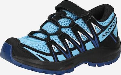 SALOMON Ниски обувки 'XA PRO 3D' в кралско синьо / светлосиньо / черно / бяло, Преглед на продукта