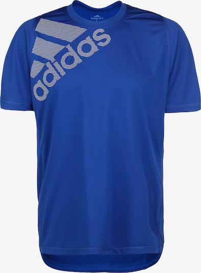 ADIDAS PERFORMANCE T-Shirt fonctionnel 'FreeLift BOS' en bleu cobalt / gris, Vue avec produit