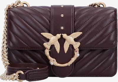 PINKO Crossbody Bag 'Love' in Gold / Dark purple, Item view