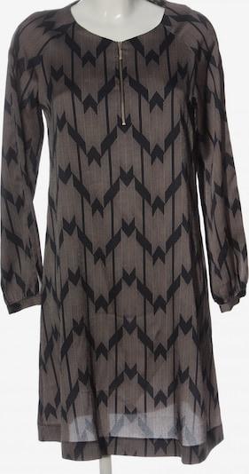 Piú & Piú Langarmkleid in S in schwarz / wollweiß, Produktansicht