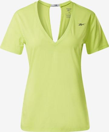 Reebok Sport Performance Shirt in Yellow