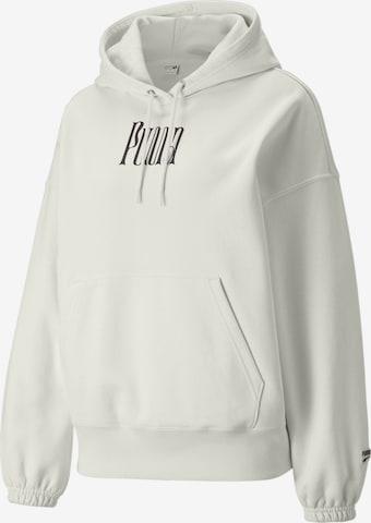 PUMA Sweatshirt 'Downtown' in Weiß