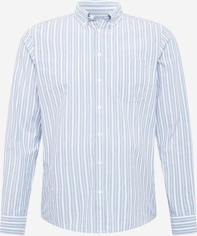 Casual Friday Košulja 'Anton' u sivkasto plava / bijela, Pregled proizvoda