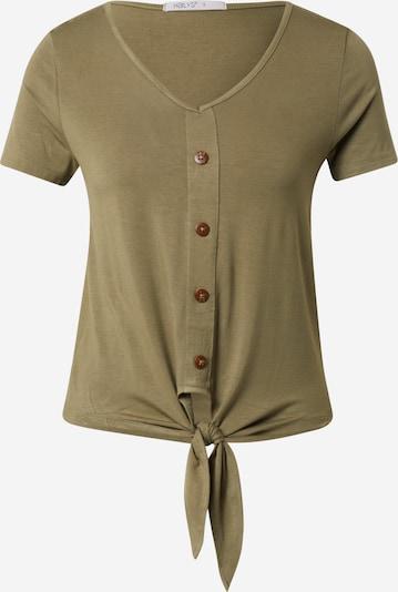 Hailys Shirt 'Amber' in de kleur Kaki, Productweergave
