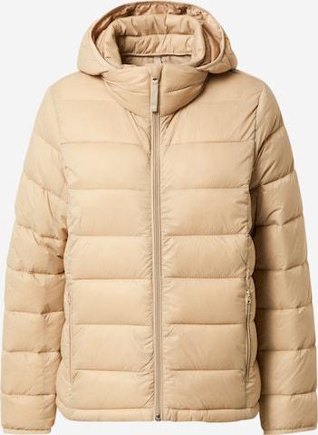 Abercrombie & Fitch Between-Season Jacket in Brown