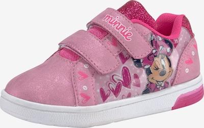 DISNEY Sneaker in pink / schwarz, Produktansicht