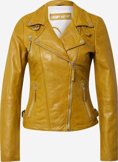 FREAKY NATION Přechodná bunda - tmavě žlutá, Produkt