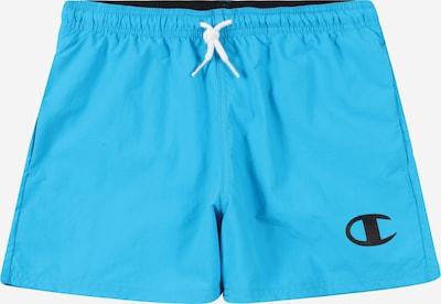 Pantaloncini da bagno Champion Authentic Athletic Apparel di colore turchese / blu scuro, Visualizzazione prodotti