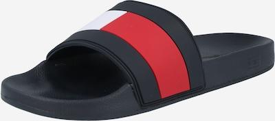 TOMMY HILFIGER Klapki w kolorze granatowy / czerwony / czarny / białym, Podgląd produktu