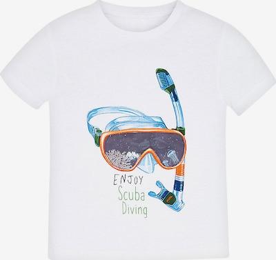 Mayoral T-Shirt in mischfarben / weiß, Produktansicht