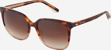 Calvin Klein Aurinkolasit 'CK21707S' värissä ruskea
