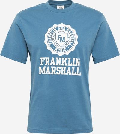 FRANKLIN & MARSHALL Shirt in blau / weiß, Produktansicht