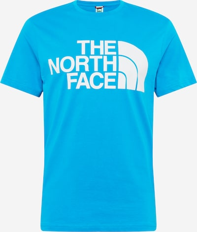 THE NORTH FACE Shirt 'STANDARD' in aqua / weiß, Produktansicht