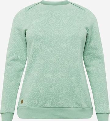 Ragwear Plus Dressipluus 'TASHI', värv roheline