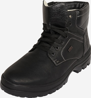 RIEKER Lace-up boot 'F5423' in Black