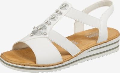 RIEKER Sandály - přírodní bílá, Produkt