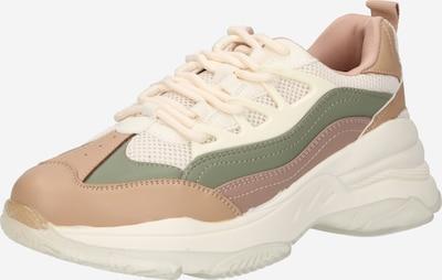 Sneaker low CALL IT SPRING pe crem / bej deschis / kaki / rosé, Vizualizare produs