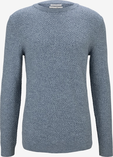 TOM TAILOR DENIM Pullover in blau: Frontalansicht
