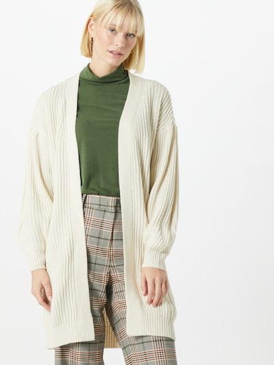 VERO MODA Strickjacke 'Furn' in weiß, Modelansicht