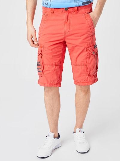 CAMP DAVID Kalhoty - světle červená, Model/ka