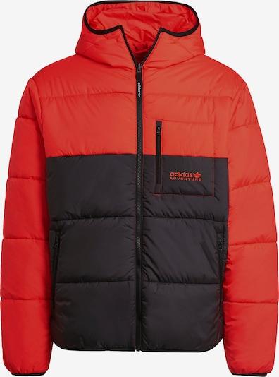 ADIDAS ORIGINALS Jacke in rot / schwarz, Produktansicht