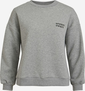 VILA Sweatshirt in Grey