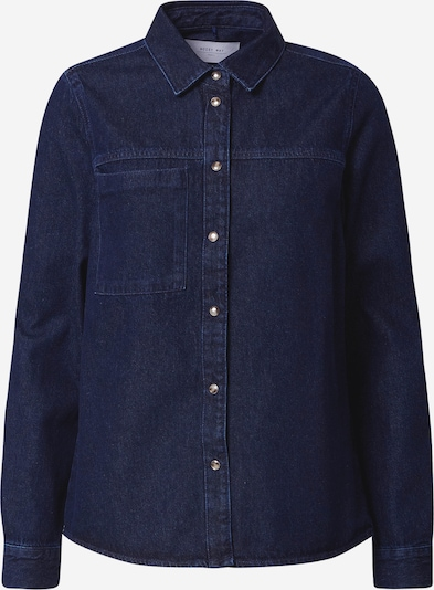 Noisy may Bluse 'Riley' i blue denim, Produktvisning