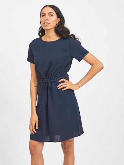 VILA Kleid 'LOVIE' in navy, Modelansicht