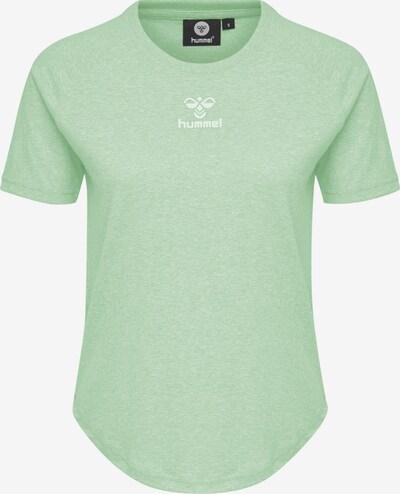 Hummel T-shirt in grün / weiß, Produktansicht