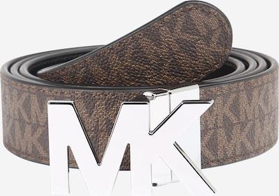 Michael Kors Ceinture en marron / noir / argent, Vue avec produit
