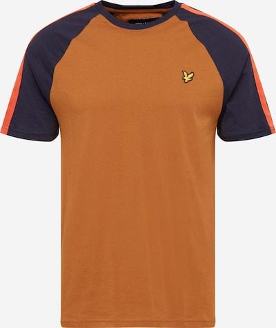 Lyle & Scott Shirt in de kleur Navy / Cognac / Kreeft / Wit, Productweergave