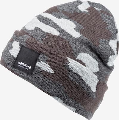 Berretto 'Higden' ICEPEAK di colore grigio / cachi / bianco naturale, Visualizzazione prodotti