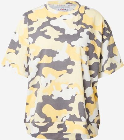 LOOKS by Wolfgang Joop T-Shirt in gelb / hellgelb / violettblau, Produktansicht