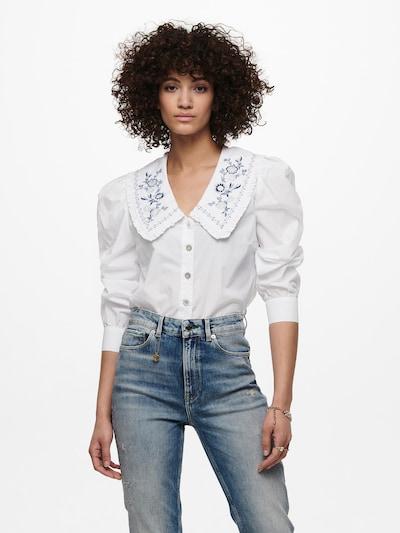 Camicia da donna 'Thea' ONLY di colore blu / bianco, Visualizzazione modelli