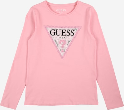 GUESS Shirt in Beige / Pastel pink / Black, Item view