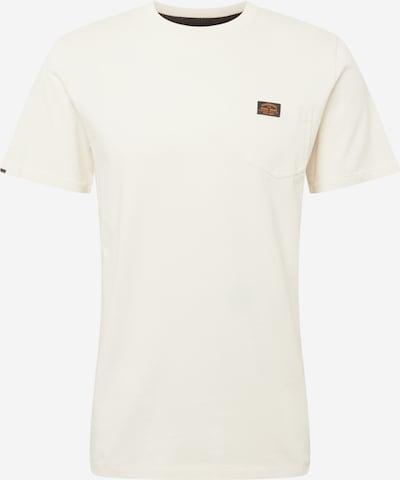 Tricou Superdry pe alb natural, Vizualizare produs