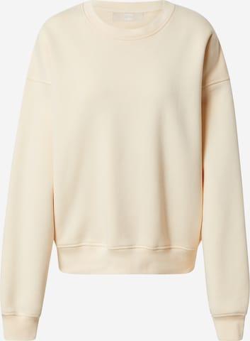 Sweat-shirt 'Ava' LENI KLUM x ABOUT YOU en blanc