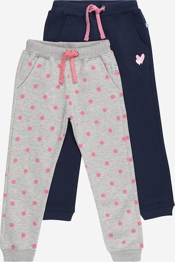 BLUE SEVEN Pants in Dark blue / Grey / Pink, Item view